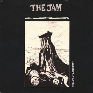The Jam - Funeral Pyre - Polydor - POSP 257