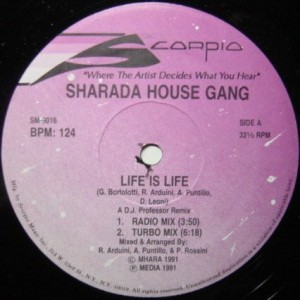 Sharada House Gang - Life Is Life - Scorpio - SM-9016
