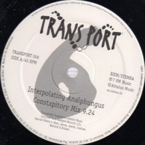 The Bubble - The Squeek Remixes - Transport - TRANSPORT 006
