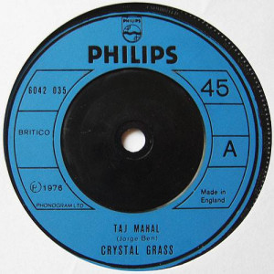 Crystal Grass - Taj Mahal / Lemme See Ya Gitcher Thing Off, Baby - Philips - 6042 035
