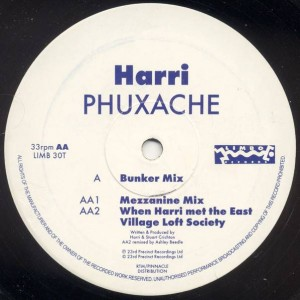 Harri - Phuxache - Limbo Records - LIMB 30T