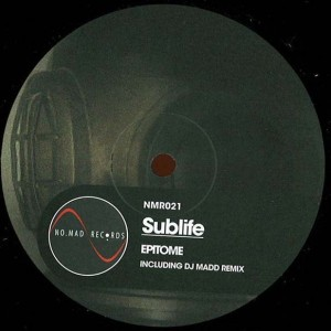 Epitome - Sublife - No.Mad Records - NMR021