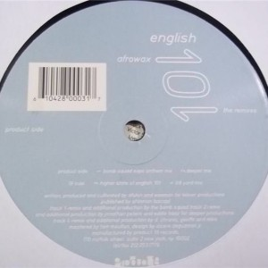 Afrowax - English 101 - Product 19 Records - P19-03