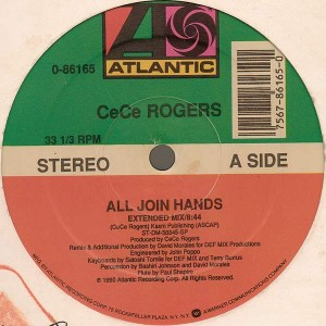 Ce Ce Rogers - All Join Hands - Atlantic - 0-86165