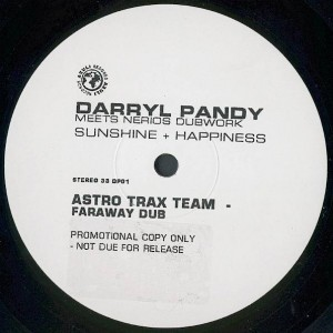 Darryl Pandy Meets Nerio's Dubwork - Sunshine + Happiness - Azuli Records - DP01