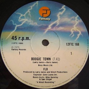 Fat Larry's Band - Boogie Town - Fantasy - 12FTC 168