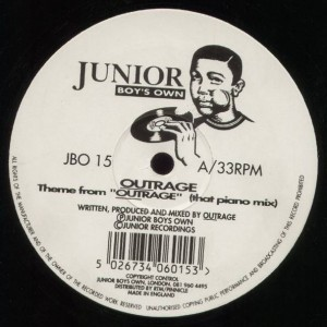 Outrage - Theme From Outrage - Junior Boy's Own - JBO 15