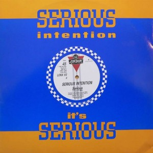 Serious Intention - Serious - London Records - LONX 93