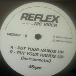 Reflex - Put Your Hands Up - Gusto Records - PRGUS 2