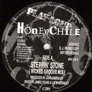 Honey Chile - Steppin' Stone - CBS - XPR 1549