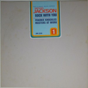 Michael Jackson - Rock With You (The Classic Remix Series - Part 1) - Epic - XPR 2229