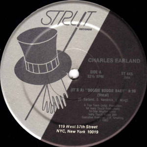 Charles Earland - (It's A) Doggie Boogie Baby - Strut Records - ST 445