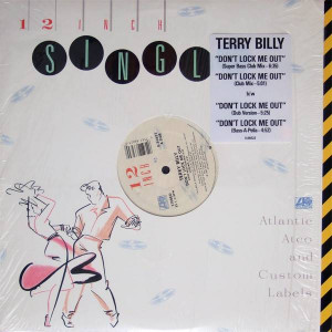 Terry Billy - Don't Lock Me Out - Atlantic - 0-86623