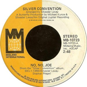 Silver Convention - No, No, Joe / Another Girl - Midland International - MB-10723