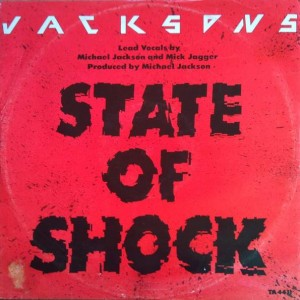 The Jacksons - State Of Shock - Epic - TA 4431