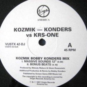 Ziggy Marley And The Melody Makers - Kozmik - Konders vs. KRS-ONE - Virgin America - VUSTXDJ 42