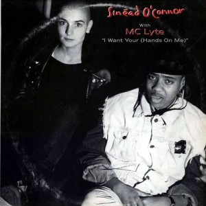 Sinéad O'Connor with MC Lyte - I Want Your (Hands On Me) - Ensign - ENYX 613