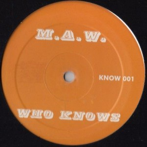 Masters At Work - Who Knows - Not On Label (Masters At Work) - KNOW 001