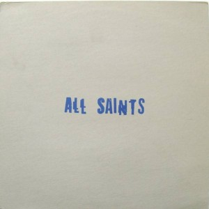 All Saints - I Know Where It's At - London Records - Blue 1