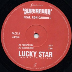 Superfunk - Lucky Star - Fiat Lux - FLPROMO2