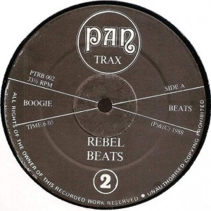 Unknown Artist - Rebel Beats 2 - Pan Trax - PTRB 002