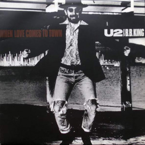 U2 With B.B. King - When Love Comes To Town - Island Records - 12 IS 411