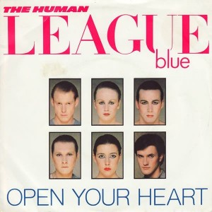 The Human League - Open Your Heart - Virgin - VS453