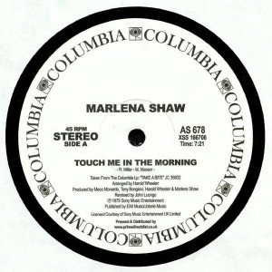 Marlena Shaw - Touch Me In The Morning - Columbia - AS 678