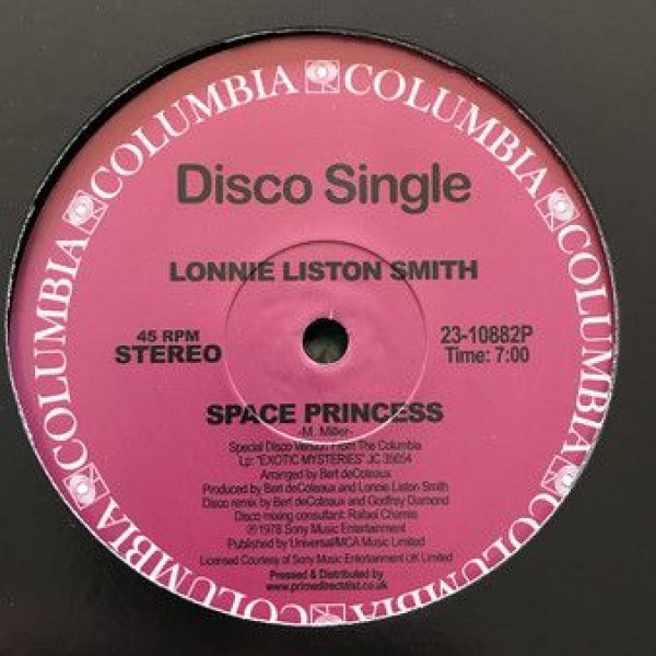 Lonnie Liston Smith - Space Princess / Quiet Moments - Columbia - 2310882P
