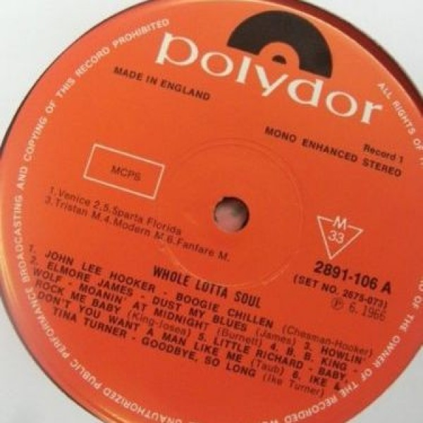 Various - Whole Lotta Soul - Polydor - 2891-106, 2891-107, 2891-108