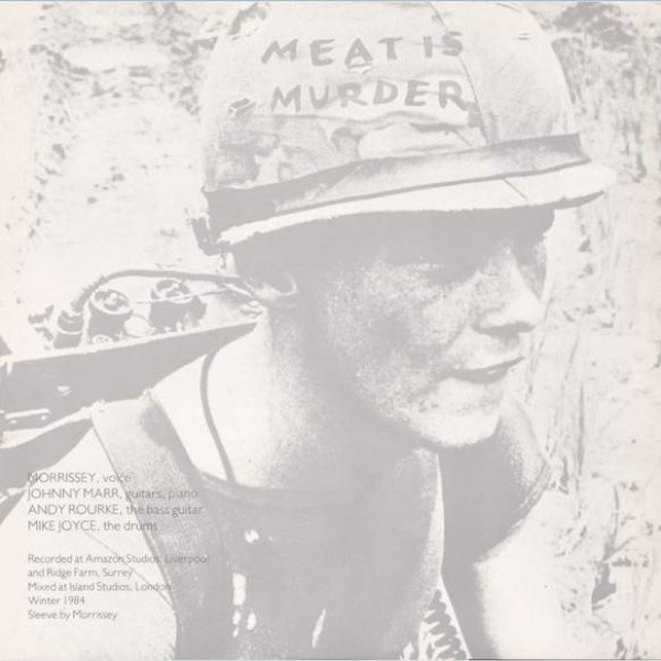 The Smiths - Meat Is Murder - Rough Trade - ROUGH 81