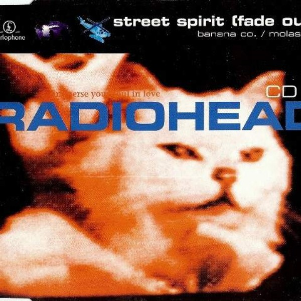 Radiohead - Street Spirit (Fade Out) - Parlophone - 7243 8 82522 2 5, Parlophone - CDR 6419