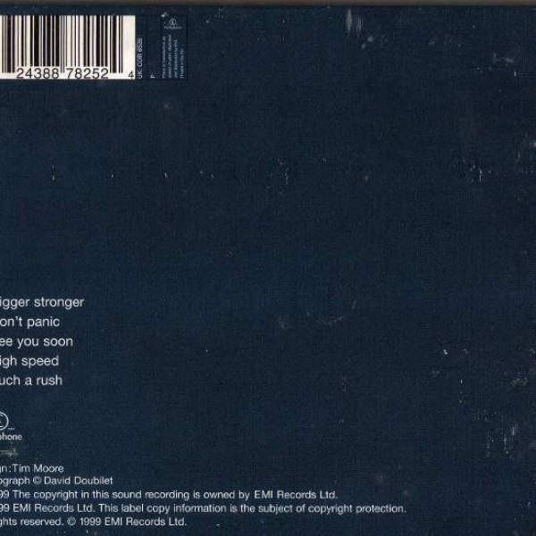 Coldplay - The Blue Room E.P. - Parlophone - 7243 8 87825 2 4, Parlophone - CDR 6528