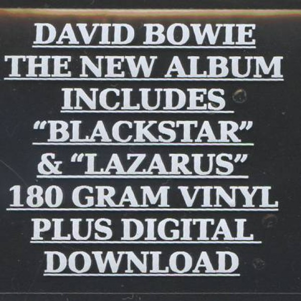 David Bowie - ★ (Blackstar) - ISO Records - 88875173871, Columbia - 88875173871, Sony Music - 88875173871 S1